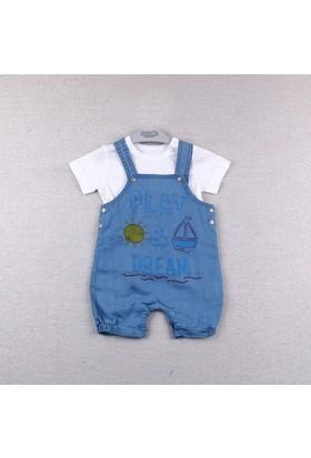 Bebetto Erkek Bebek 2'li Takım K1707 Be