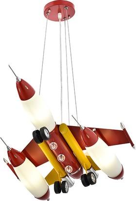 Eray Aydınlatma 886GS Uçak Modeli Çocuk Avizesi