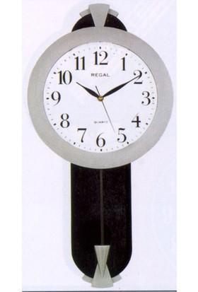 Regal 0089 Bw Sarkaçlı Duvar Saati