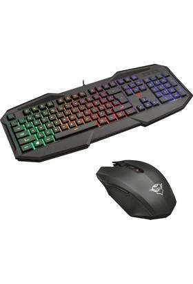 Trust 22507 Gxt 830-Rw Avonn Gaming Oyuncu Klavye + Trust 22417 Gxt 115 Macci Gaming Oyuncu Mouse Set