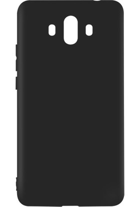 Microcase Huawei Mate 10 Elektrocase Silikon TPU Kılıf + Tempered Cam