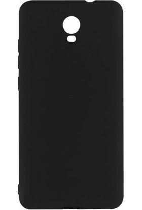 Microcase Xiaomi Redmi Note 2 Elektrocase Silikon TPU Kılıf + Tempered Cam
