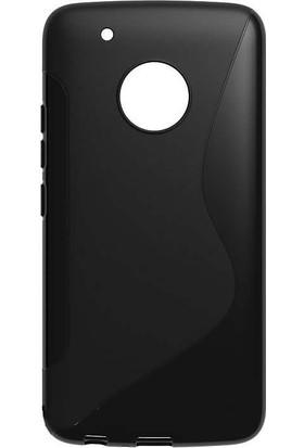 Microcase Motorola Moto G5 Plus S Line Silikon Kılıf + Tempered Cam