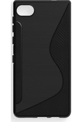 Microcase BlackBerry Motion Carbon S Line Silikon TPU Kılıf