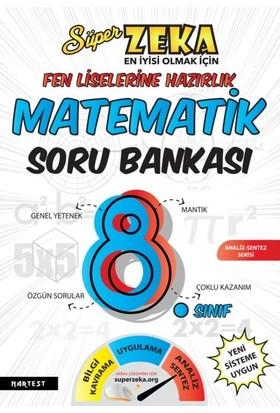 8. Sınıf Süper Zeka Fen Liselerine Hazırlık Matematik Soru Bankası