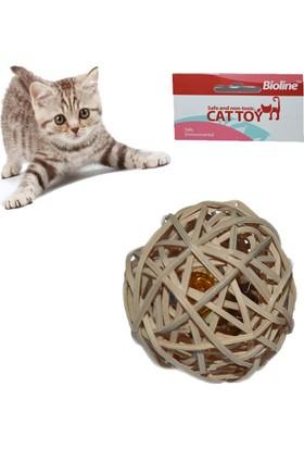 Bioline Bitkisel Catnipli Kedi Oyun Topu