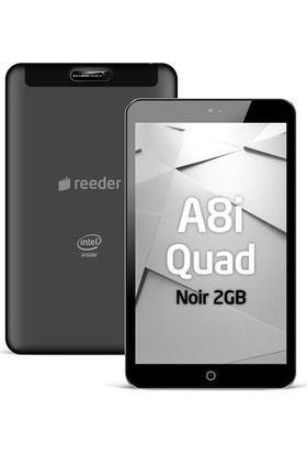 Reeder A8İ Quad Noir Tablet PC
