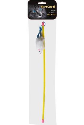EuroCat Kedi Olta Oyuncak 48 cm Fareli