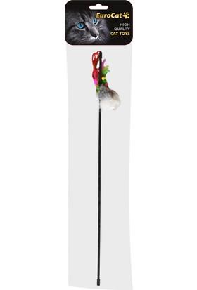 EuroCat Kedi Olta Oyuncak 50 cm Tüylü