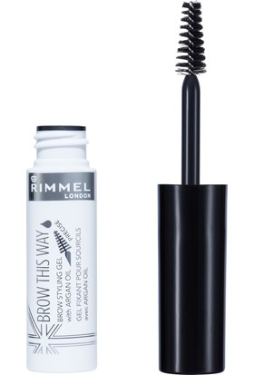 Rimmel London Brow This Way Kaş Kalemi Argan Oil Clear