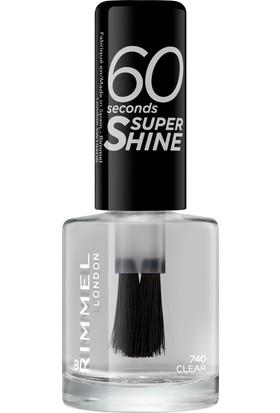 Rimmel London 60 Seconds Super Shine Oje 740 - Clear