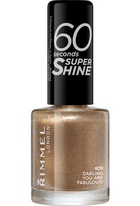 Rimmel London 60 Seconds Super Shine Oje 809 - Darling, You Are Fabulous!