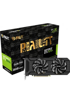 Palit GeForce GTX1070Ti 8GB 256Bit GDDR5 DX(12) PCI-E 3.0 Ekran Kartı (NE5107T015P2-1043D)