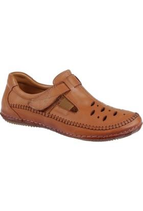 Beety Hakiki Deri Kadın Ayakkabı Bty 3081 Taba