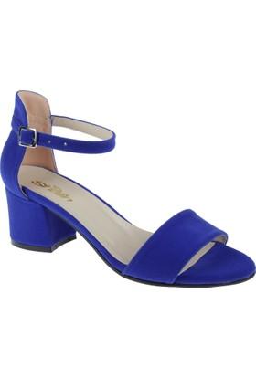 Shalin Kadın Sandalet Bşk 1026 Saxs Mavi