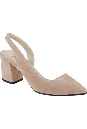 Shalin Kadın Sandalet Bşk 360 Ten Süet