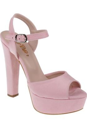 Shalin Kadın Sandalet Pl 44 Pudra