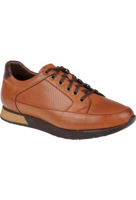 Shalin Hakiki Deri Erkek Ayakkabı Dtc 576 Taba