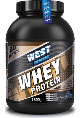West Nutrition Whey Protein Tozu 1800 gr