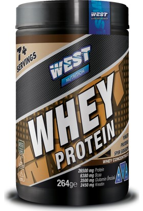 West Nutrition Whey Protein Tozu 264 gr