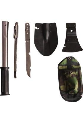 Teknor Kamp Dağcı Balta Kürek Bıçak Testere Seti