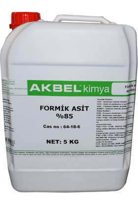 Akbel Formik Asit %85 5 Kg