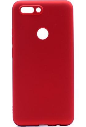 Etabibizde Casper Via F2 Kılıf Premier Yumuşak Silikon Arka Kapak Kırmızı