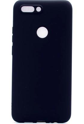 Etabibizde Casper Via F2 Kılıf Premier Yumuşak Silikon Arka Kapak Siyah + Nano Cam