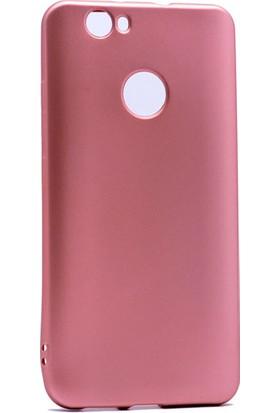 Etabibizde Huawei Nova Kılıf Premier Yumuşak Silikon Arka Kapak Bronz + Nano Cam