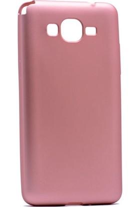 Etabibizde Samsung Galaxy J2 Prime Kılıf Premier Yumuşak Silikon Arka Kapak Bronz