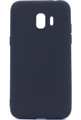 Etabibizde Samsung Galaxy J2 Pro 2018 Kılıf Premier Yumuşak Silikon Arka Kapak Siyah