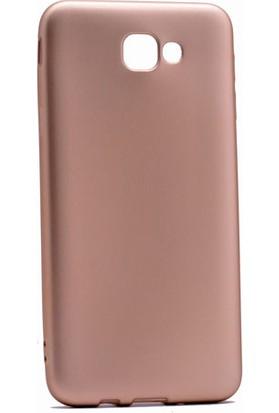 Etabibizde Samsung Galaxy J5 Prime Kılıf Premier Yumuşak Silikon Arka Kapak Gold