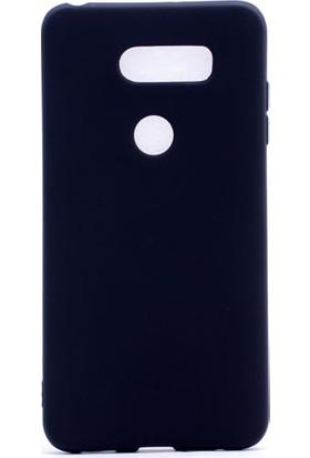 Etabibizde LG V30 Kılıf Premier Yumuşak Silikon Arka Kapak Siyah