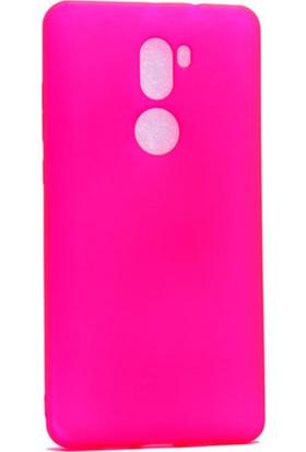 Etabibizde Xiaomi Redmi 5S Plus Kılıf Premier Yumuşak Silikon Arka Kapak Pembe + Nano Cam