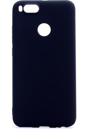 Etabibizde Xiaomi Mi A1 Kılıf Premier Yumuşak Silikon Arka Kapak Siyah