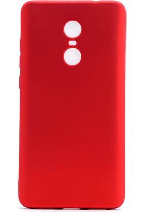 Etabibizde Xiaomi Redmi Note 4X Kılıf Premier Yumuşak Silikon Arka Kapak Kırmızı