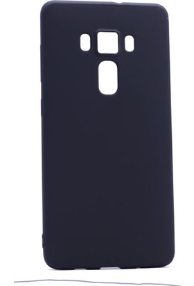 Etabibizde Asus Zenfone 3 ZE552KL Kılıf Premier Yumuşak Silikon Arka Kapak Siyah