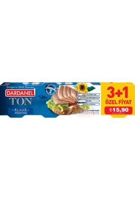 Dardanel Ton Balığı Bitkisel Yağlı 80 Gr X 4