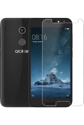 Case 4U Alcatel A3 Temperli Cam Ekran Koruyucu