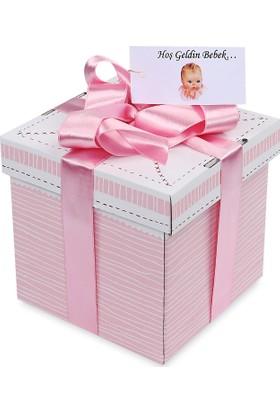 Sepet Diyarı Hediye Doğum Paketi ( Yeni Doğan Kız Bebek) / Küçük Kutu