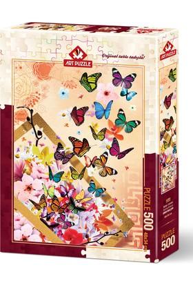 Art Puzzle 500 Parça Bahar Esintisi Puzzle