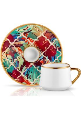 Koleksiyon Sufı Turk Kahvesı Seti 6Lı Amazon Tropıc