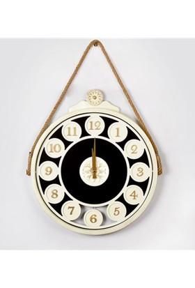 Yargıcı Porselem Sarkaçlı Saat