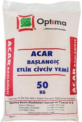 Optima Acar Başlangıç Etlik Civciv ve Piliç Yemi 50 kg