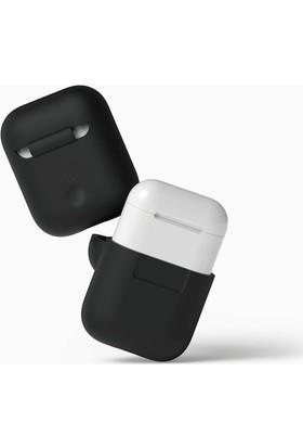 Elago Apple Airpods Silikon Kılıf - Siyah