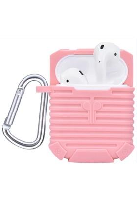 Kny Apple Airpods Kulaklık İçin Askılı Ultra Korumalı Silikon