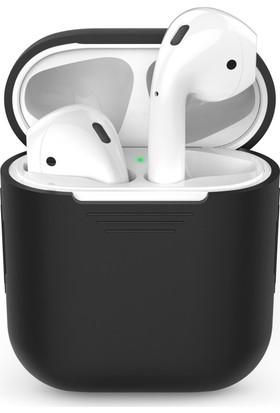 Microsonic Apple Airpods Bluetooth Kulaklık İçin Silikon Kılıf