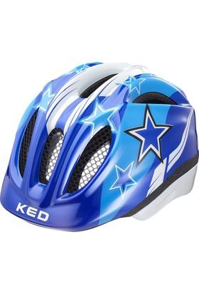 Ked Bisiklet Kaskı Meggy Blue Stars