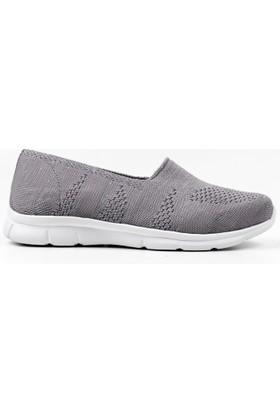 Spenco Kadın Gri Tekstil Ayakkabı Z.154
