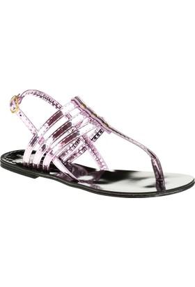 David Jones Kadın Parmak Arası Sandalet Lila Ayna